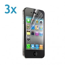 3x iPhone 4 Screenprotector